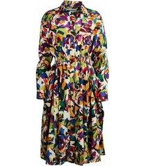 archive floral dress