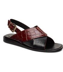 slipper 4176 shoes summer shoes flat sandals brun billi bi