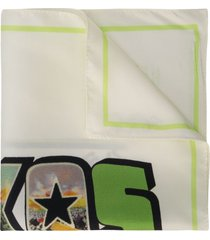 amélie pichard texas postcard scarf - green
