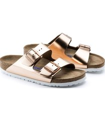 sandalia arizona metallic copper birkenstock