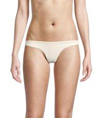peixoto women's bella bikini bottom - marigold - size xs