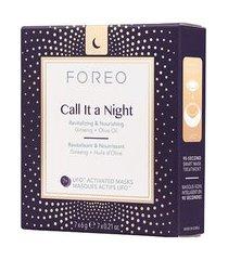 máscara facial ufo foreo - call it a night - noturna - 7 sachês único