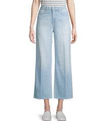 l'agence women's danica high-rise wide-leg jeans - belmont - size 23 (00)