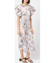 preen by thornton bregazzi women's pippa dress - pink blossom - s