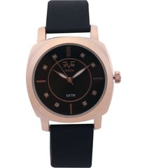 reloj dorado-negro versace 19.69
