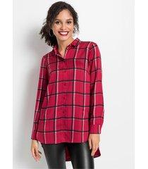 lange blouse met zakken