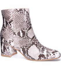 chinese laundry women's daria block heel booties women's shoes
