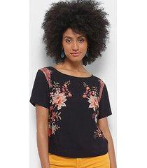 blusa farm estampada feminina