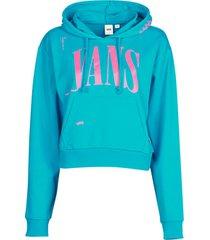 sweater vans wm kaye crop hoodie
