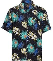 ss resort shirt kortärmad skjorta blå lee jeans