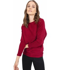 sweater privilege tejido rojo - calce regular