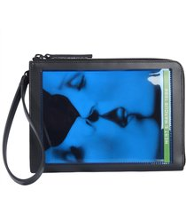dsquared2 printed pouch