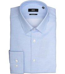 hugo boss overhemd eliott lichtblauw 50419164/452