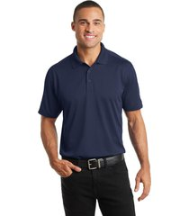 port authority k569 diamond jacquard polo shirt - true navy