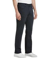 joe's jeans brixton navy slim fit twill pants