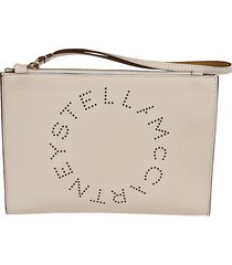 stella mccartney logo pouch