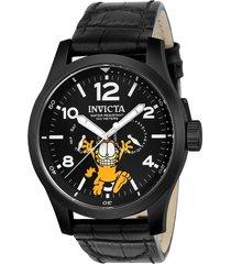 reloj invicta negro modelo 248ik para hombres, colección character collection