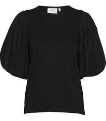 imagz blouse hs20 blouses short-sleeved zwart gestuz