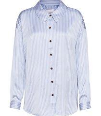 emme shirt långärmad skjorta blå designers, remix