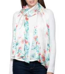 giani bernini butterfly tropical oblong scarf, created for macy's