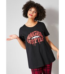 shirt angel of style zwart