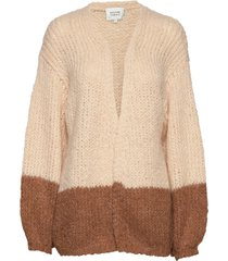 sal knit cardigan gebreide trui cardigan beige second female