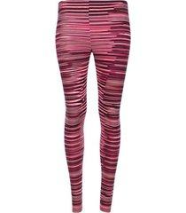 leggings deportivo lineas rosa color rosado, talla xxl