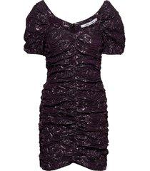 girasol dress 12905 korte jurk paars samsøe samsøe