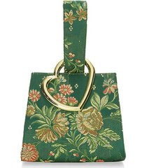 heart wristlet bag