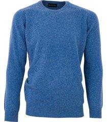alan paine trui jeans dorset classic fit lamswol