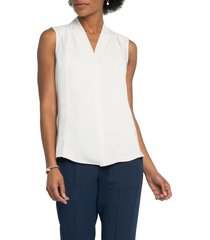 women's nic+zoe anytime tank top, size xx-large - ivory