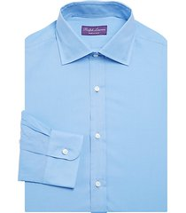 modern-fit solid dress shirt