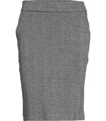 sc-beth knälång kjol grå soyaconcept