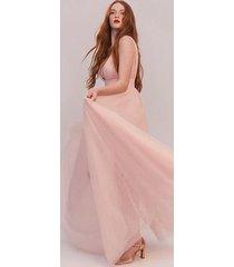 pale pink the miranda dress