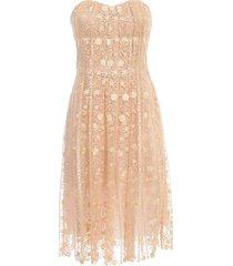 blumarine bustier dress w/s w/lace