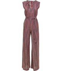 jumpsuit in lurex