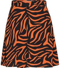 a line mini skirt knälång kjol multi/mönstrad ivyrevel