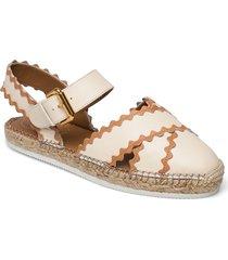 glyn sandaletter expadrilles låga vit see by chloé