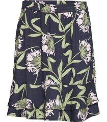 skirt knälång kjol multi/mönstrad signal