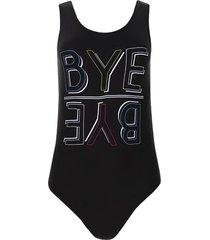 body bye bye color negro, talla 8
