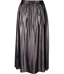 glansig kjol laura kent grå
