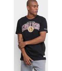 camiseta mitchell & ness nba cleveland cavaliers team arch masculino