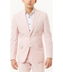 tallia men's delave linen slim fit blazer