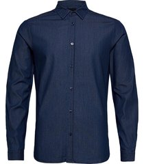 clean denim tailor shirt overhemd casual blauw scotch & soda