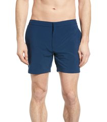 men's fair harbor sextant contrast trim swim trunks