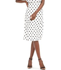 inc polka-dot midi skirt, created for macy's