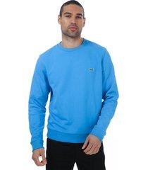 mens contrast accents sweatshirt