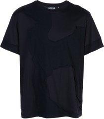 mostly heard rarely seen cut me up drop shoulder t-shirt - black
