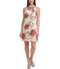 vince camuto floral-print shift dress