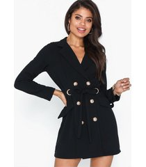 ax paris buttoned blazer dress skater dresses